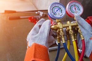 Gauge or meter Tools for repairing air