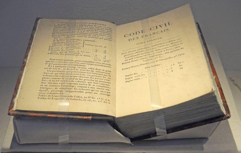 The Napoleonic Code book