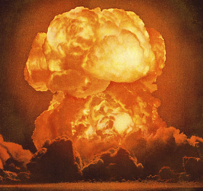 I got Atomic Bomb. Atom Quiz