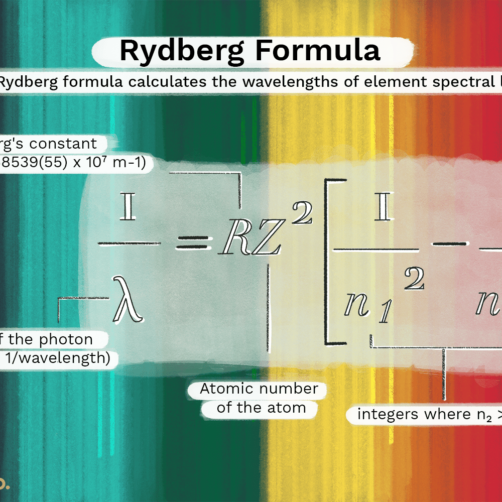 What Is The Rydberg Formula And How Does It Work