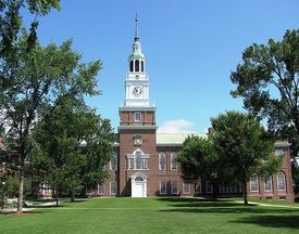 Baker Library and Tower at Dartmouth College