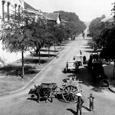 1915 Photo of Saigon, colonial French Indochina (Vietnam)