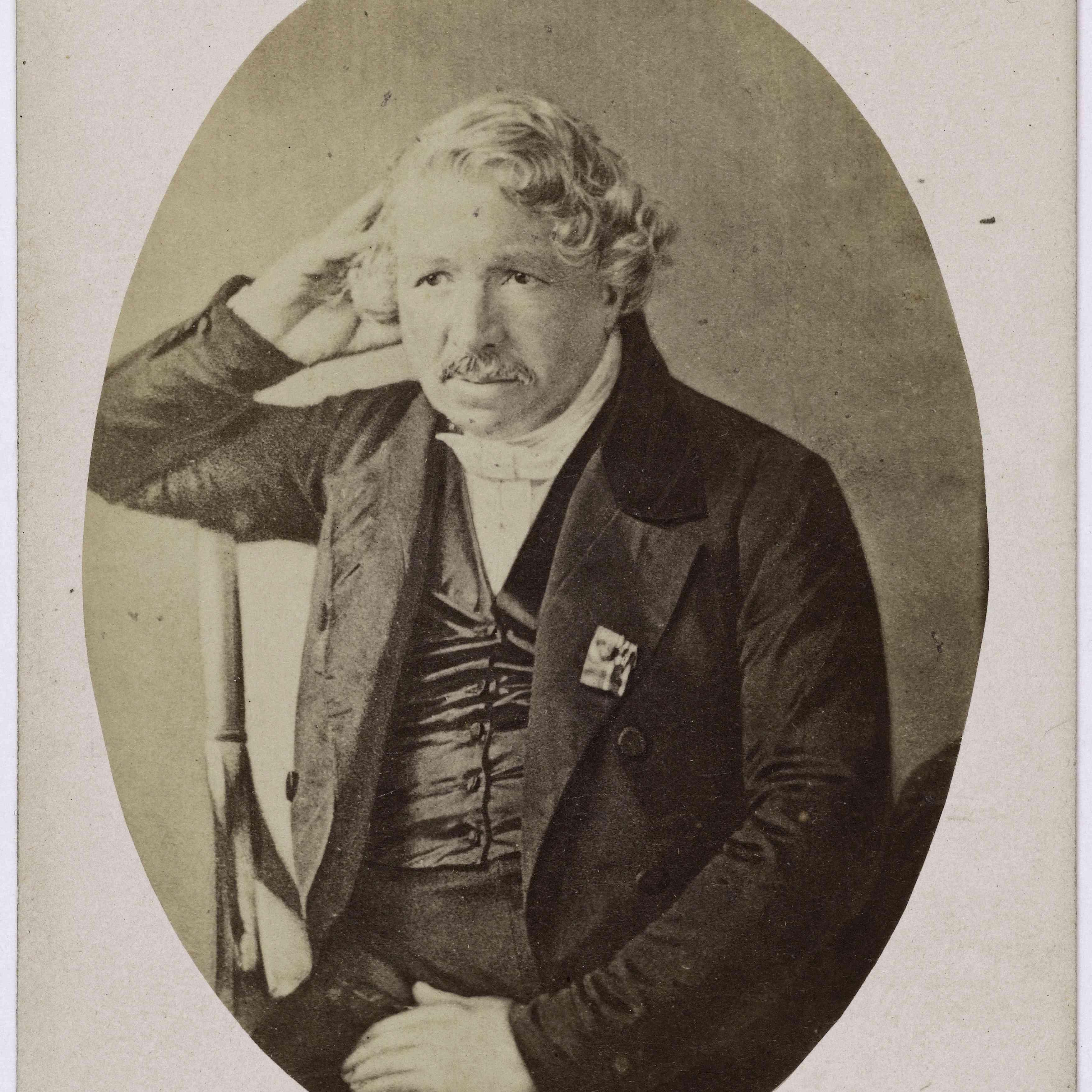 Portrait of Louis Daguerre, undated
