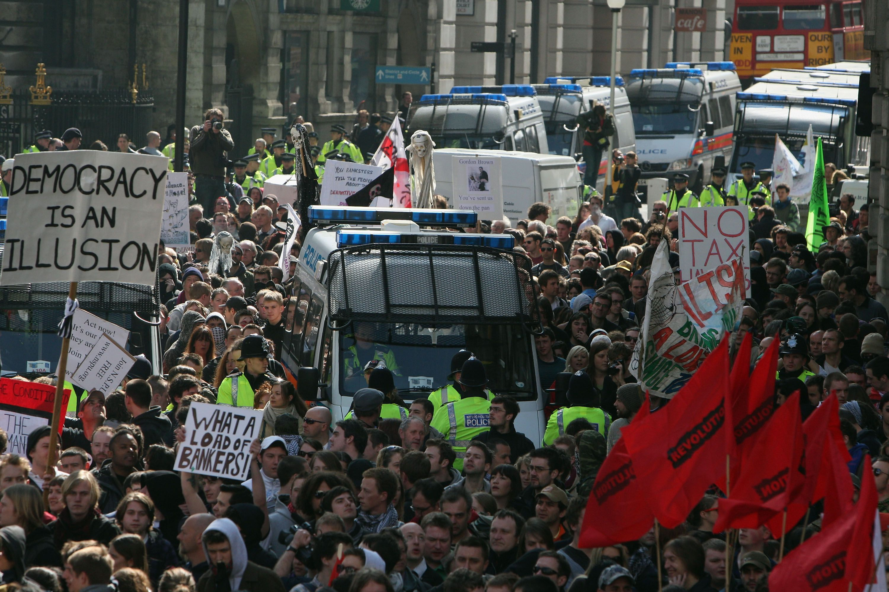 Mass Protests Are Held During The G20 World Leaders Summit