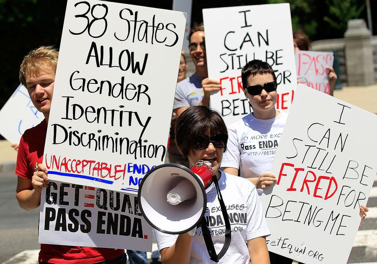 Gay Activists Hold Capitol Hill Picket On ...