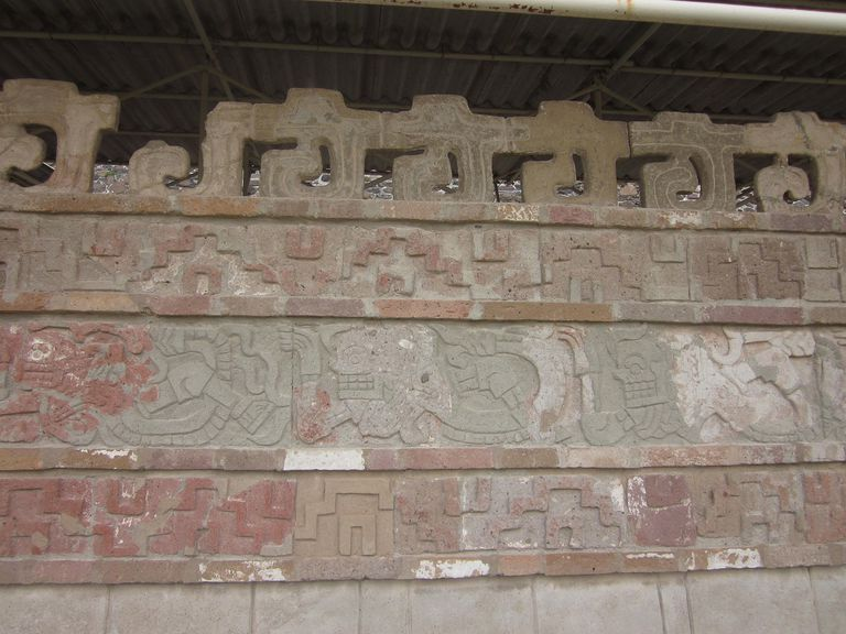 Coatepantli Frieze at Tula