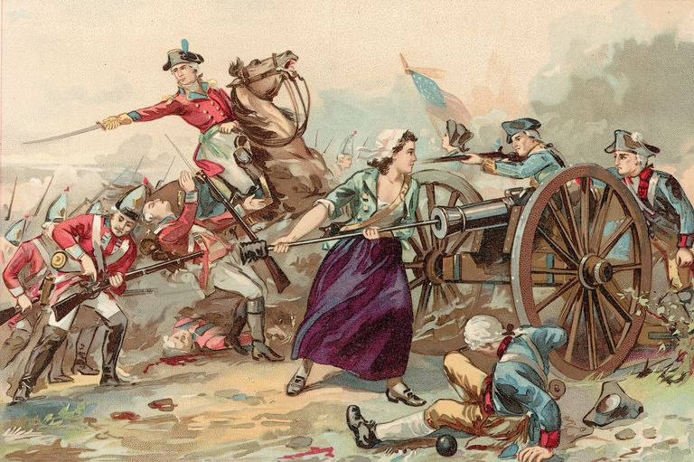 Mary McCauley Fights In Battle Of Monmouth