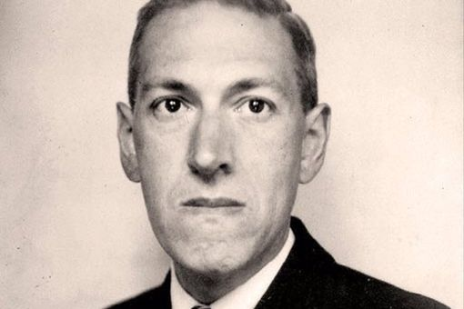 Portrait of American author H. P. Lovecraft, taken in June 1934, by Lucius B. Truesdell.