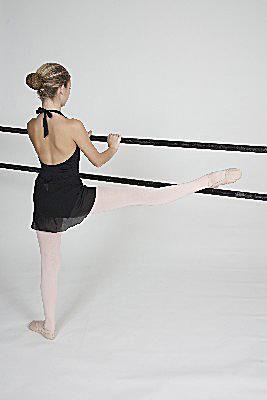 Leg on Barre