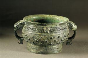 Bronze kuei (food vessel), Shang dynasty
