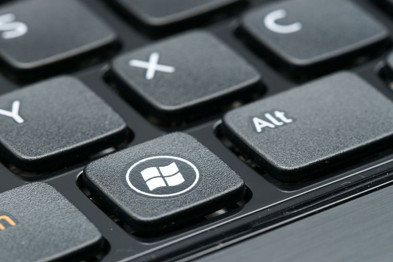 Windows sign on keyboard