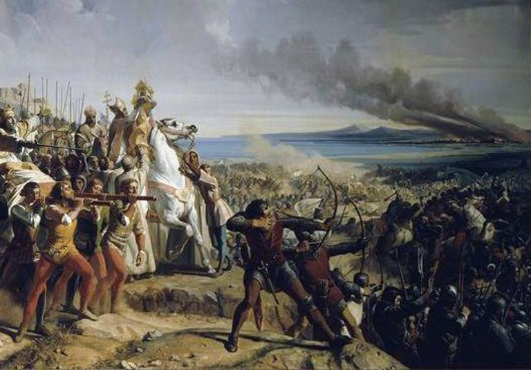 Fighting at Montgisard