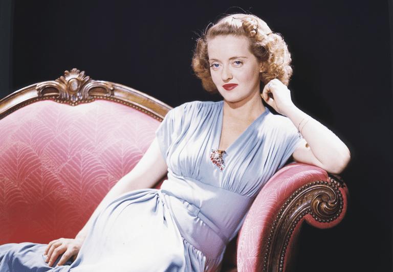 American actress Bette Davis (1908–1989), circa 1940
