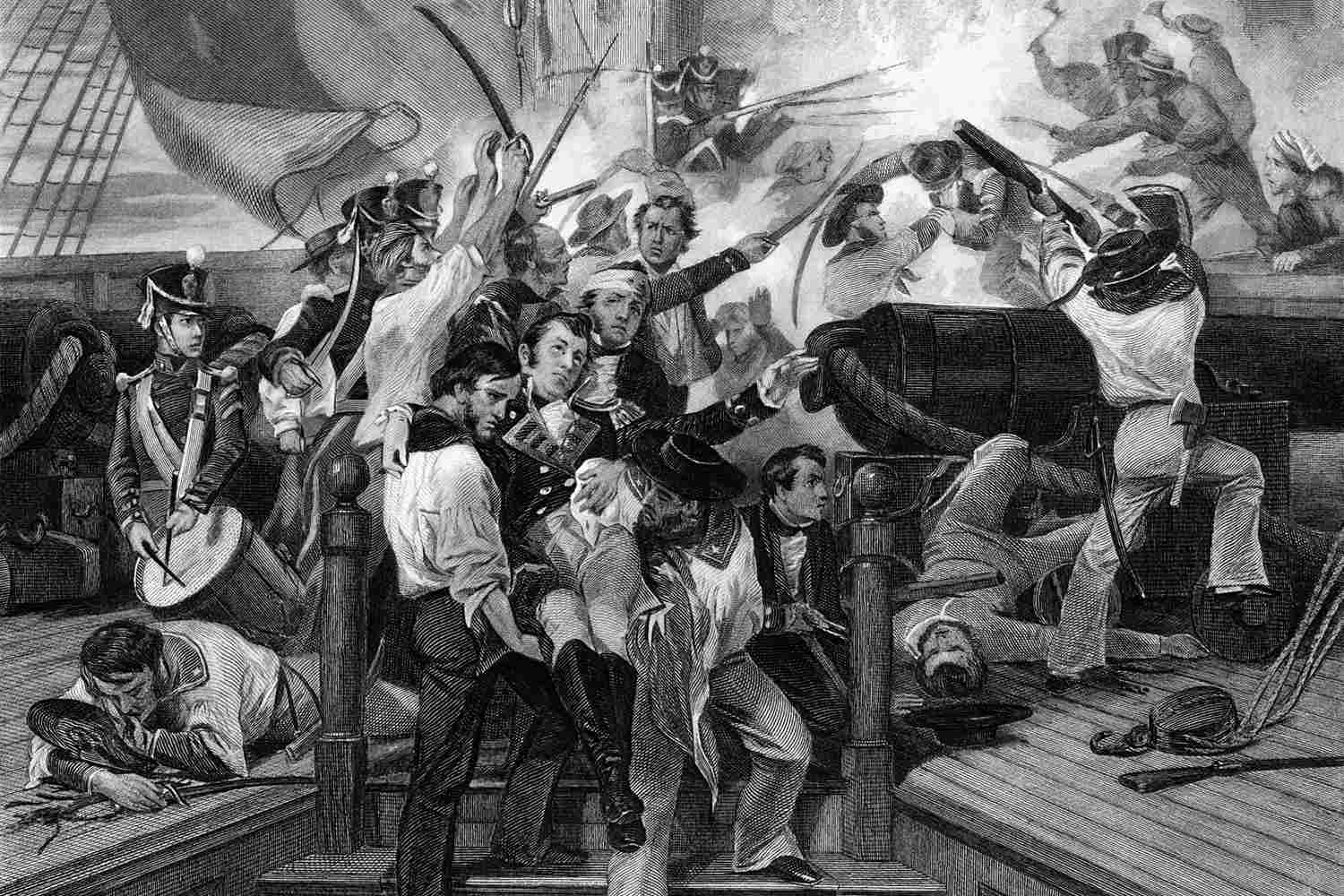 Death of Captain Lawrence