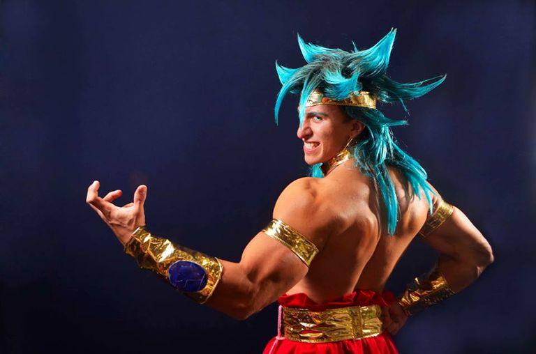 Dragon Ball Z Super Saiyan God Goku Cosplay