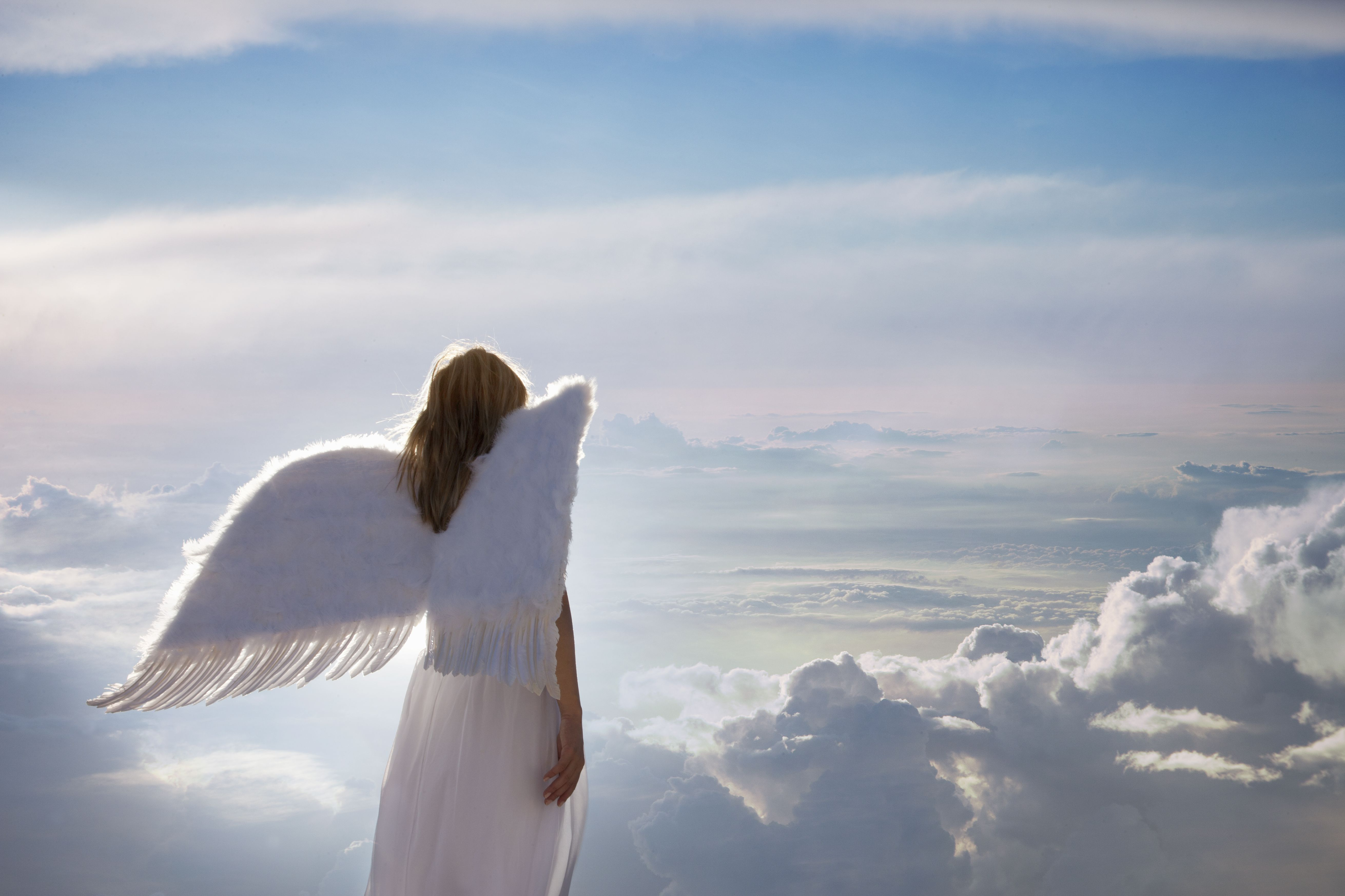 how to make an angel with photo