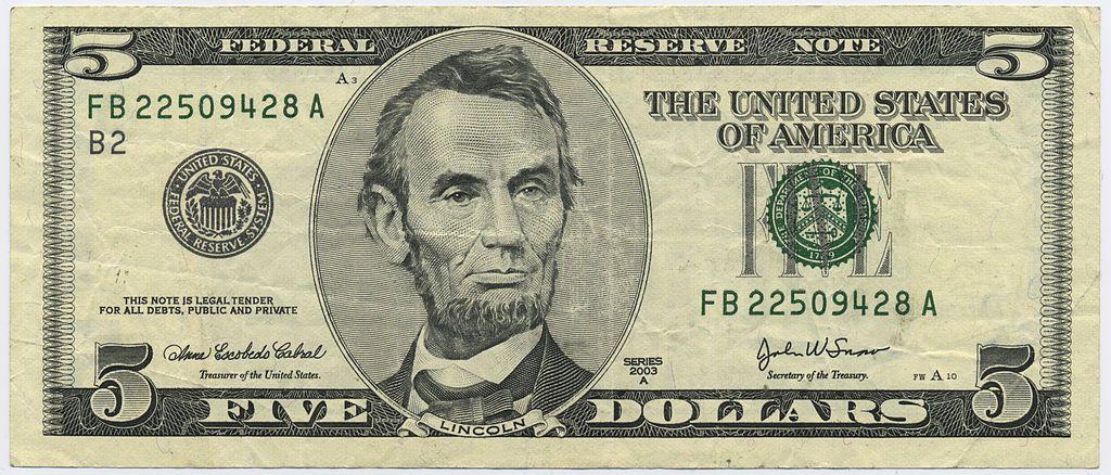 faces on us paper money