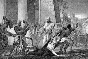 Hypatia's Murder (19th century print)