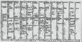 Roman Calendar Fasti