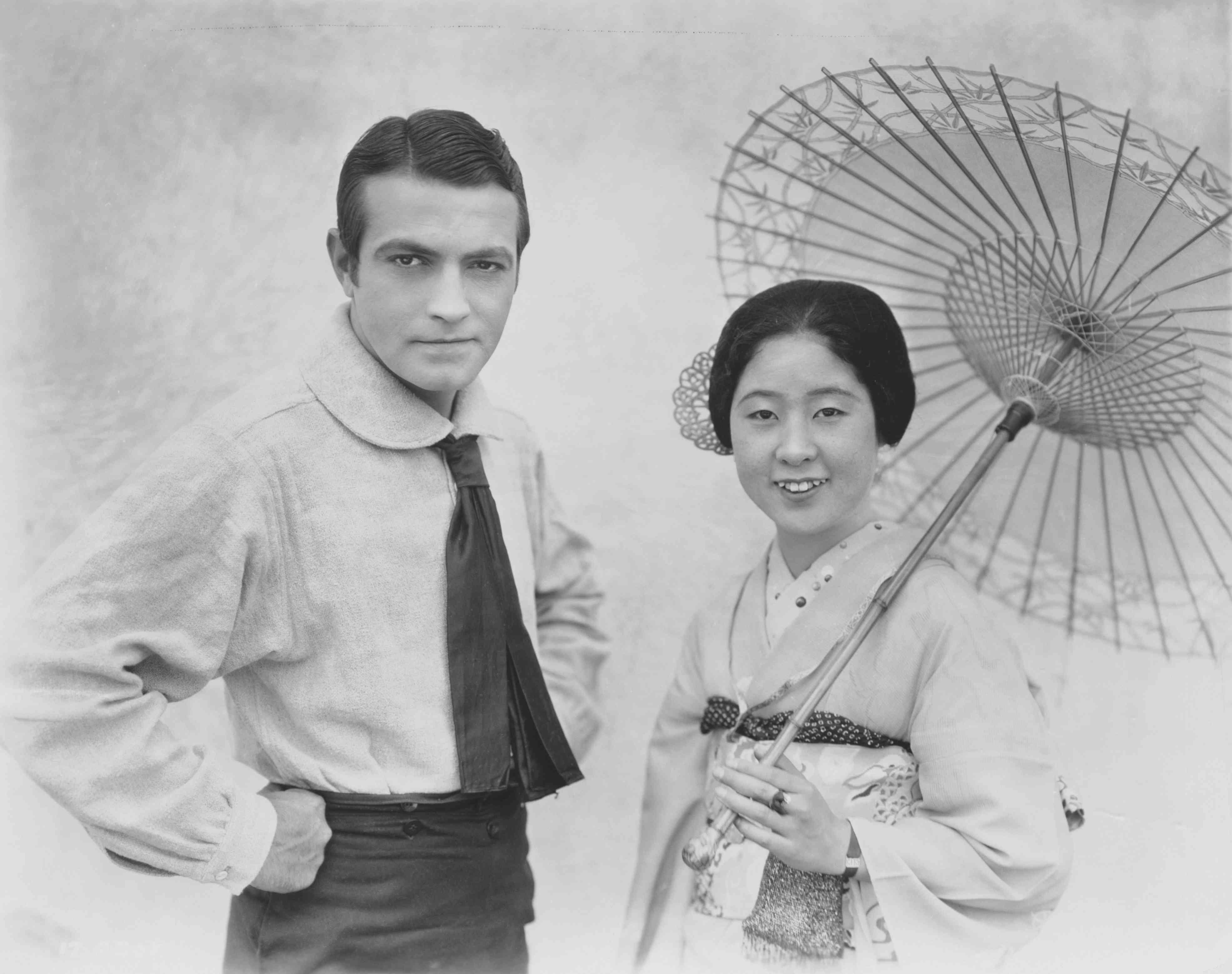 Richard Barthelmass and Yaeko Mizutani
