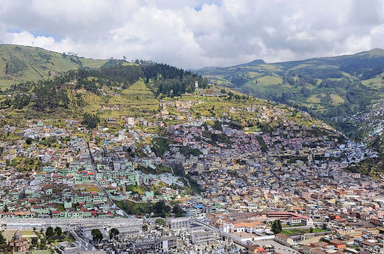 Quito from El Panecillo