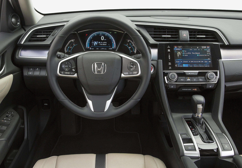 2016 Honda Civic Touring Dashboard