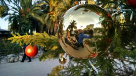 You can use an electrochemical reaction to make a classic silver ornament.