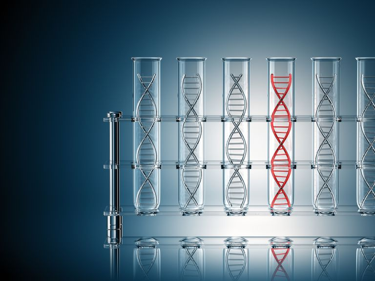 DNA in test tubes