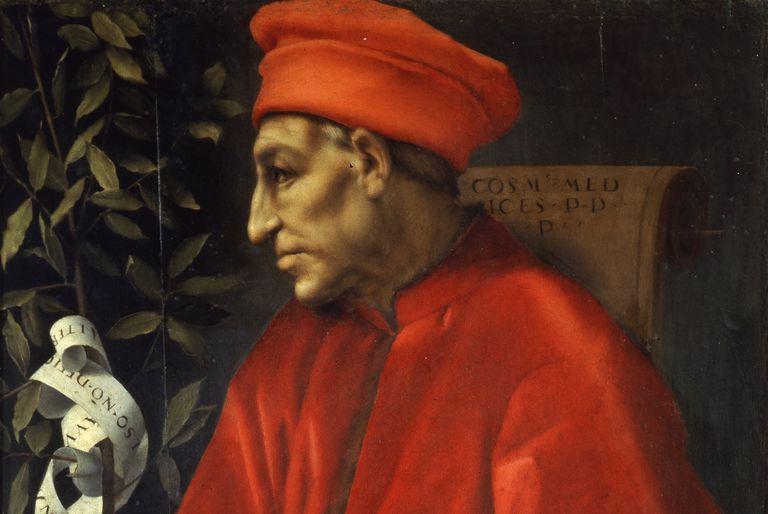 Portrait of Cosimo de' Medici, circa 1518