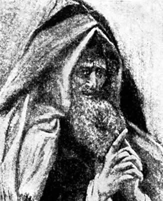 Joseph of Arimathea, drawing c. 1927