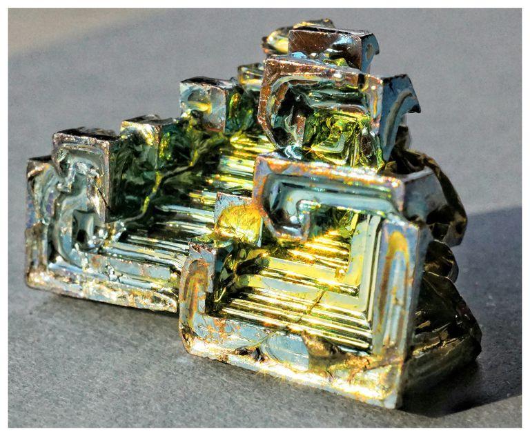 Bismuth viewed up-close