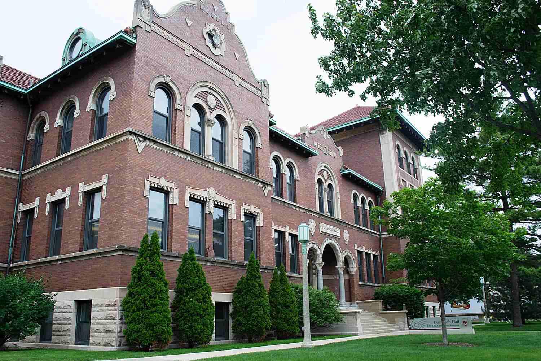 Dumbach Hall at Loyola University Chicago
