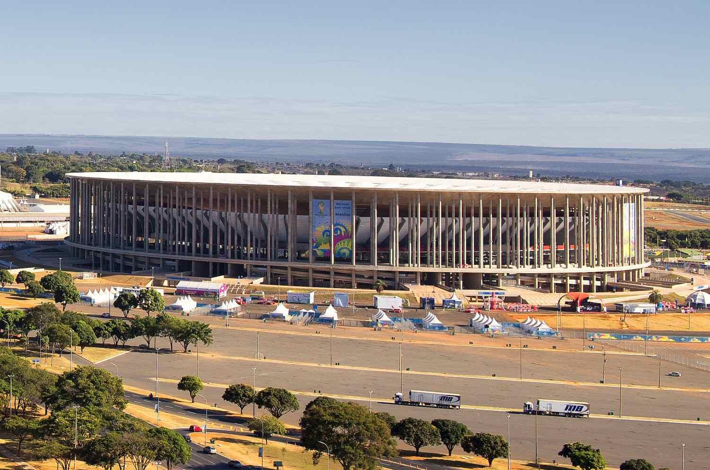 Brasília National Stadium in Brasilia