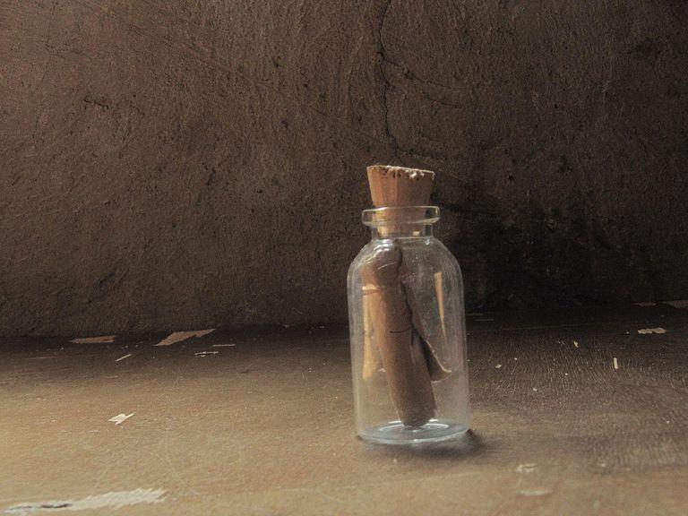 mensaje metido en una botella
