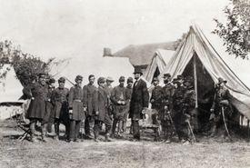 Lincoln Visits Civil War Headquarters