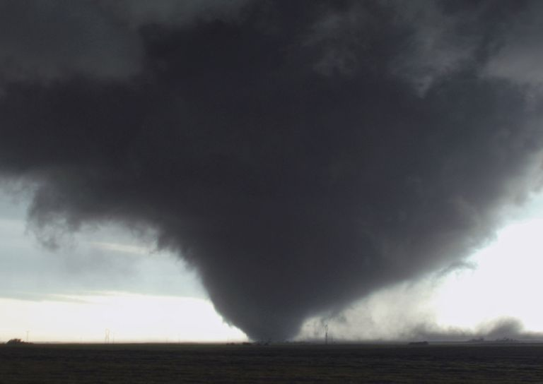 Wedge Tornado in Manitoba, Canada