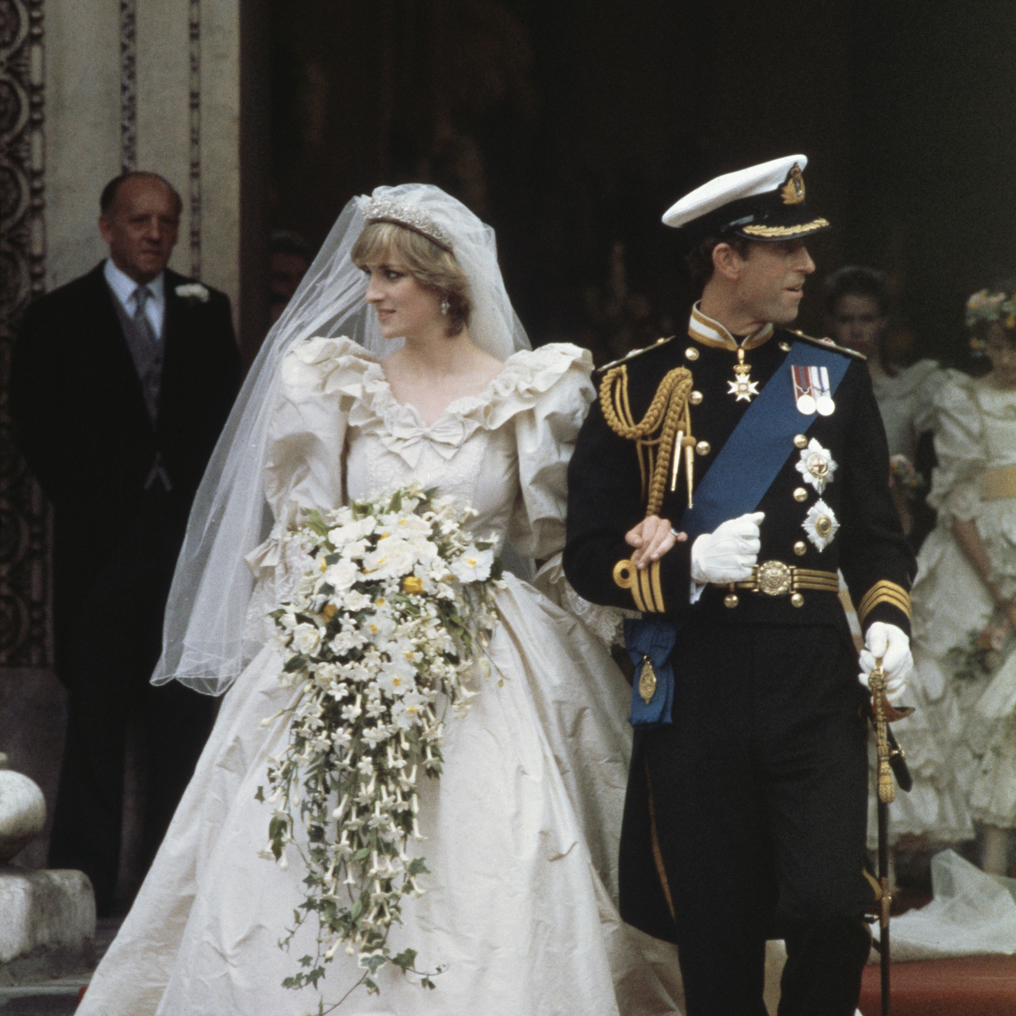 Prince Charles And Lady Diana Spencer After Their Wedding