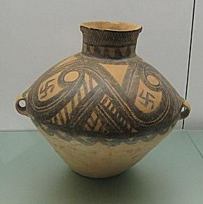 Neolithic Painted Pottery Jar