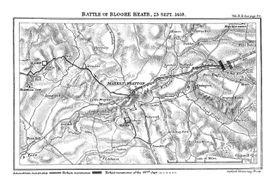 Blore Heath Map