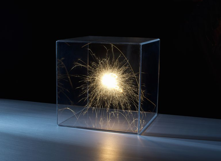 Sparks in a box