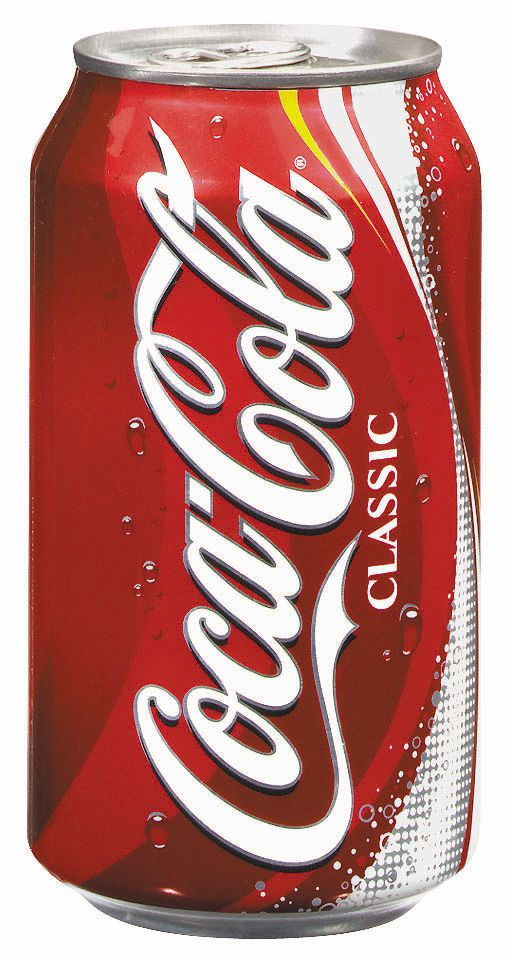 Contemporary Coca Cola Can