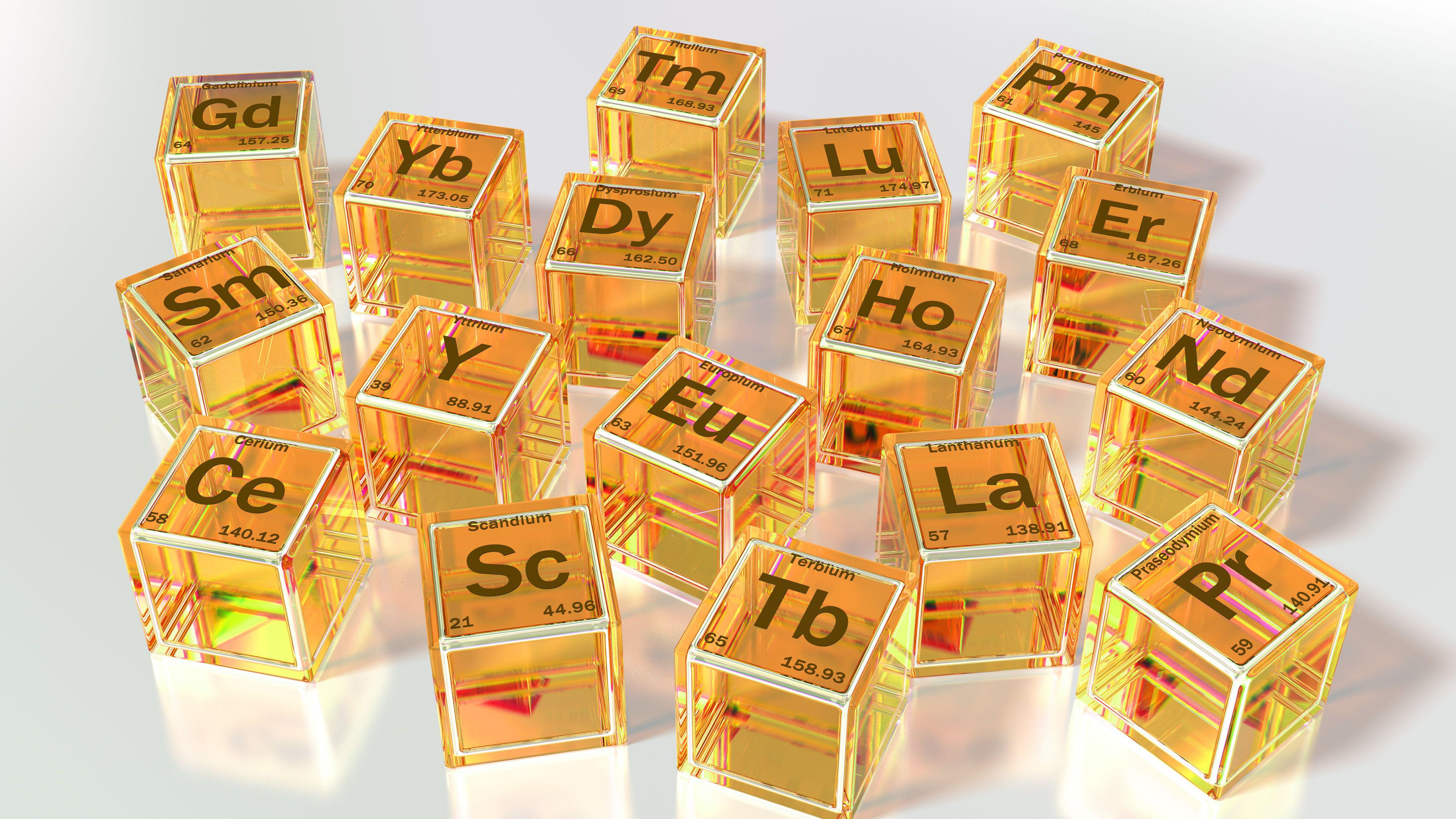 Rare Earth Elements (Metals) - List