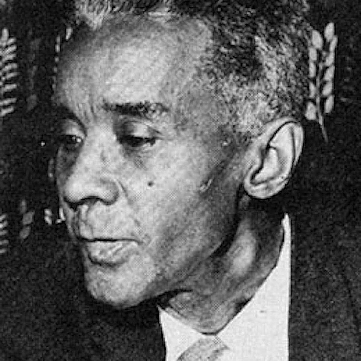 Photo of C.L.R. James, Trinidadian intellectual and activist who made important contributions to sociology.