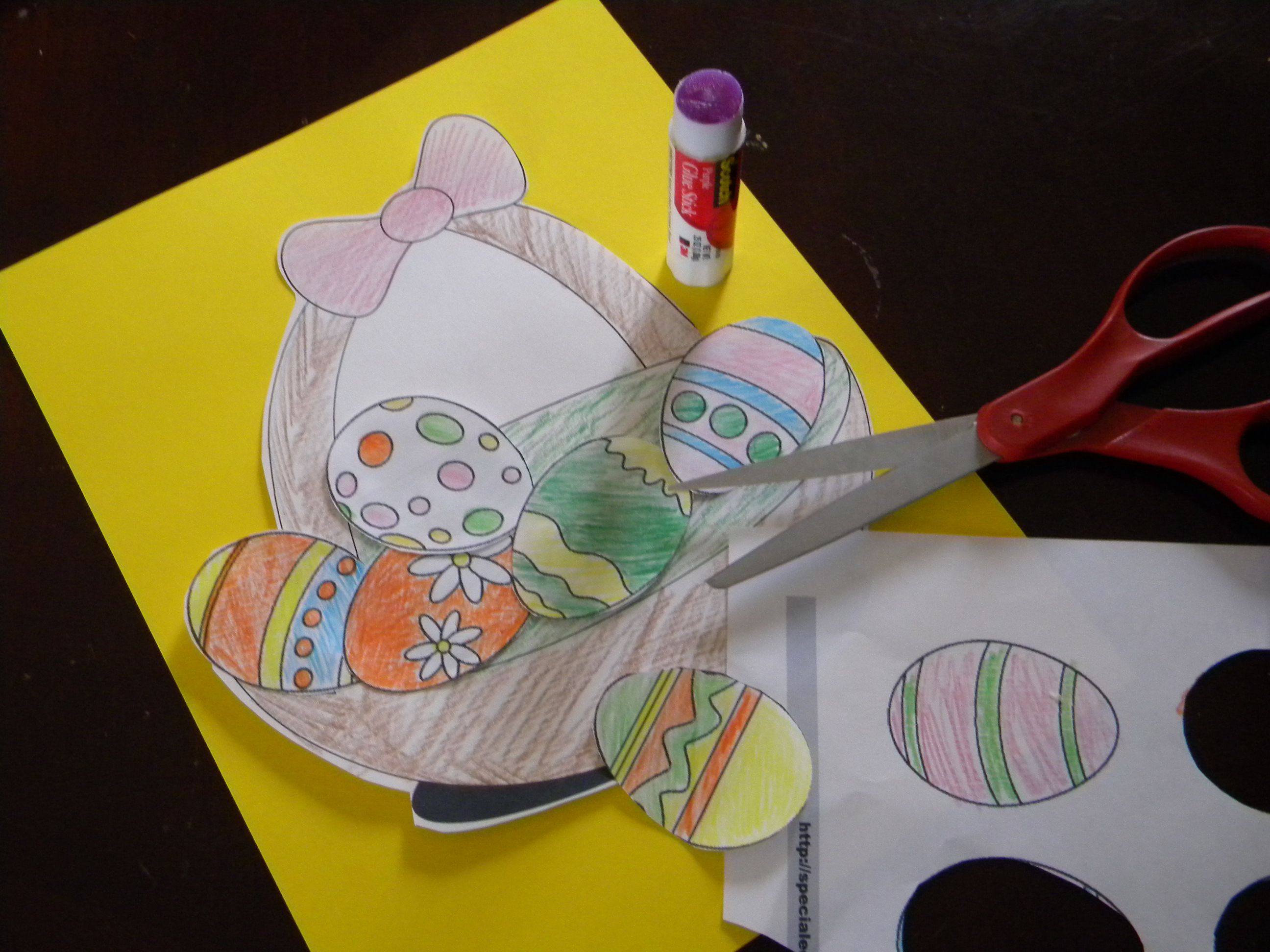 Art Projects for Fine Motor Skills and Following Directions