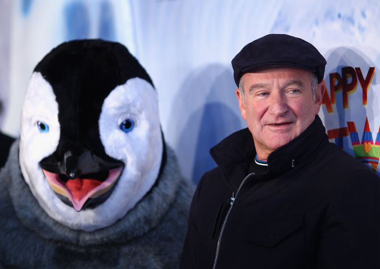Robin Williams at the Australian Premiere of Happy Feet 2