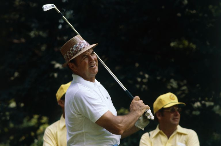 Sam Snead during the 1978 PGA Championship