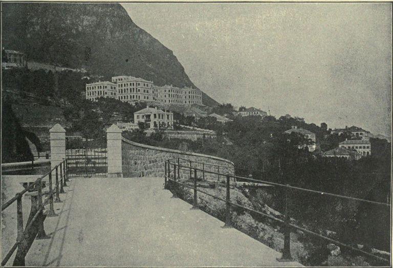 English Quarter, Hong Kong, 1899