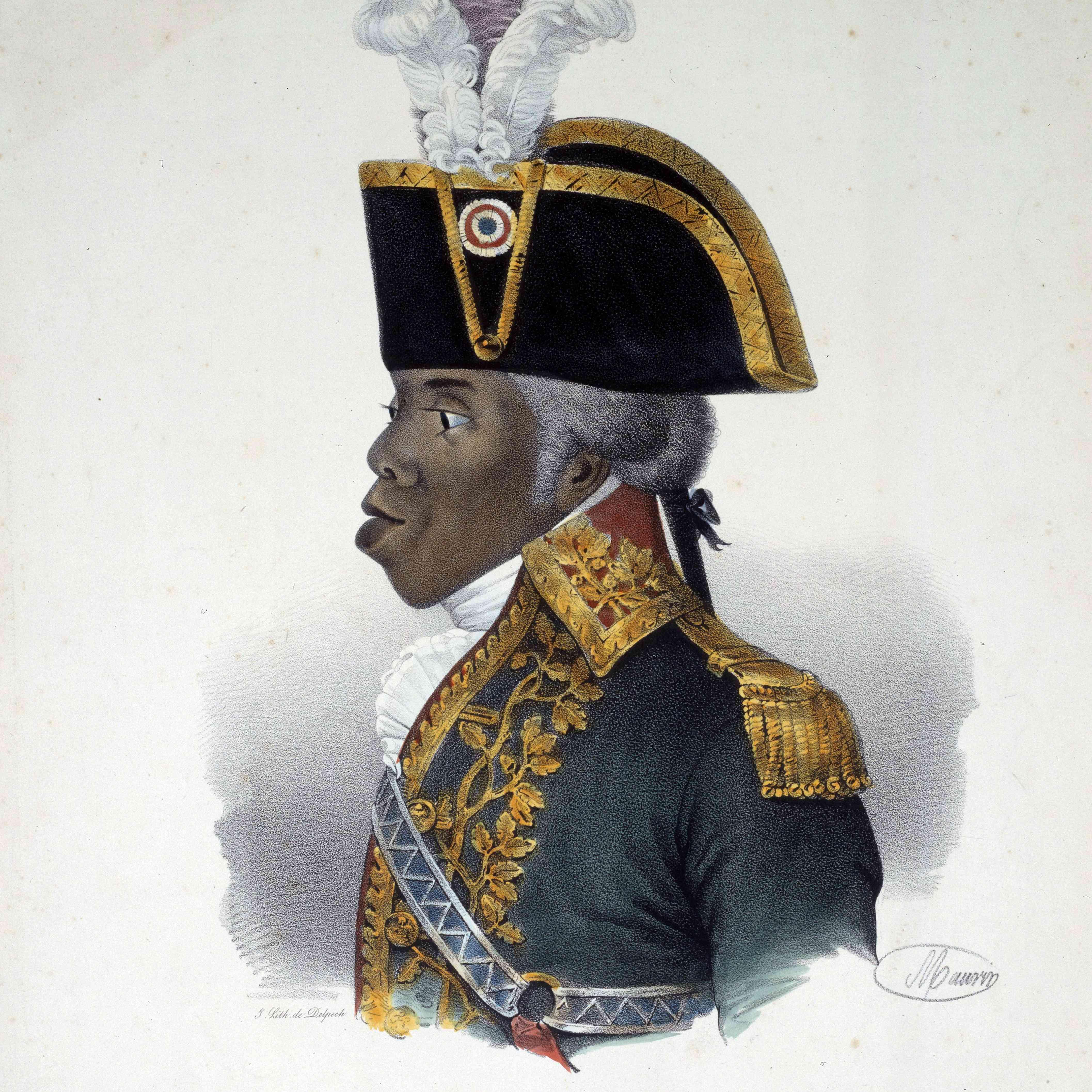 Portrait of Haitian Patriot Toussaint Louverture