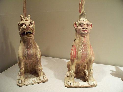 Sui Dynasty Guardian Figures