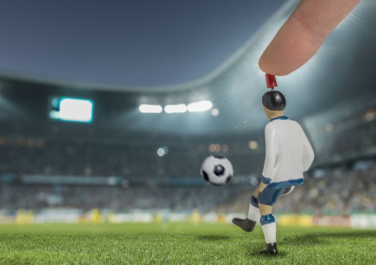 Fantasy soccer illustration